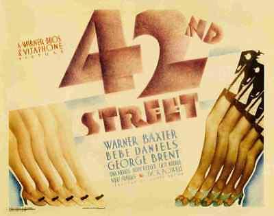 42nd Street 02 Film A3 Photo Print Poster 42nd Street Photo