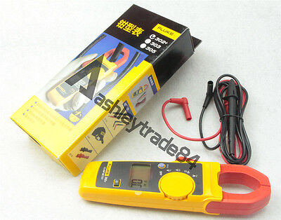 Fluke 302 Digital Clamp Meter Acdc Multimeter Electronic Tester F302