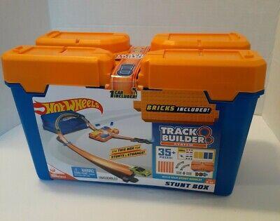 Hot Wheels Track Builder Stunt Box Includes One Hot Wheels Car DWW95 6+ Years