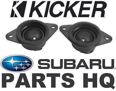 OEM Tweeter Kit by Kicker Subaru Forester, XV Crosstrek, & Impreza - H631SFJ101