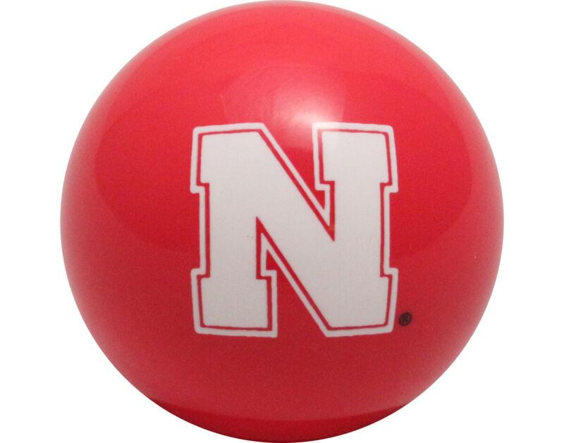 NCAA Imperial College Nebraska Cornhuskers Pool Billiard Cue or 8 Ball - Red