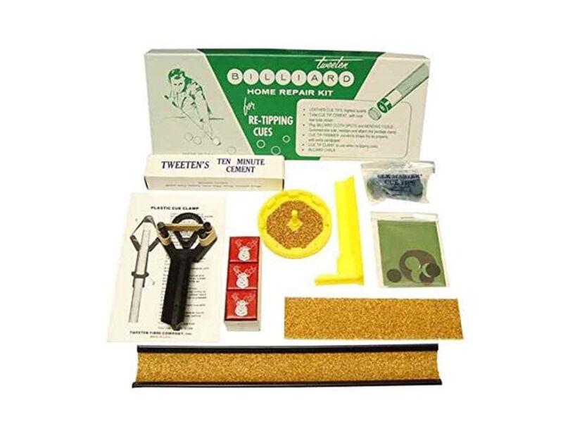 Tweeten Pool/Billiard Home Delux Tip Repair Kit for Re-Tipping Cues