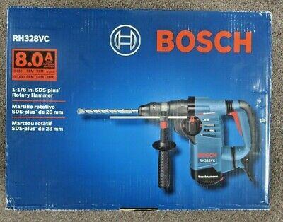 Bosch Rh328vc 8.0 Amp 1-18 Sds Plus Rotary Hammer New W Free Shipping