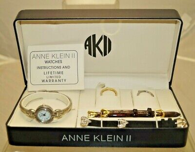1998 Anne Klein Women's Wrist Watch W/ Original Papers and Case