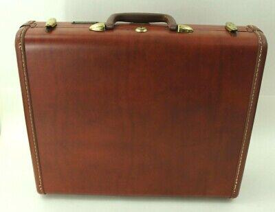 Vintage 50s Shwayder Bros Samsonite Briefcase Attaché Case Hard Side