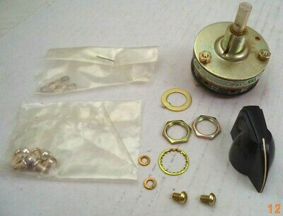 Electroswitch 8-position Rotary Switch Wknob And Hardware Pn 31301a