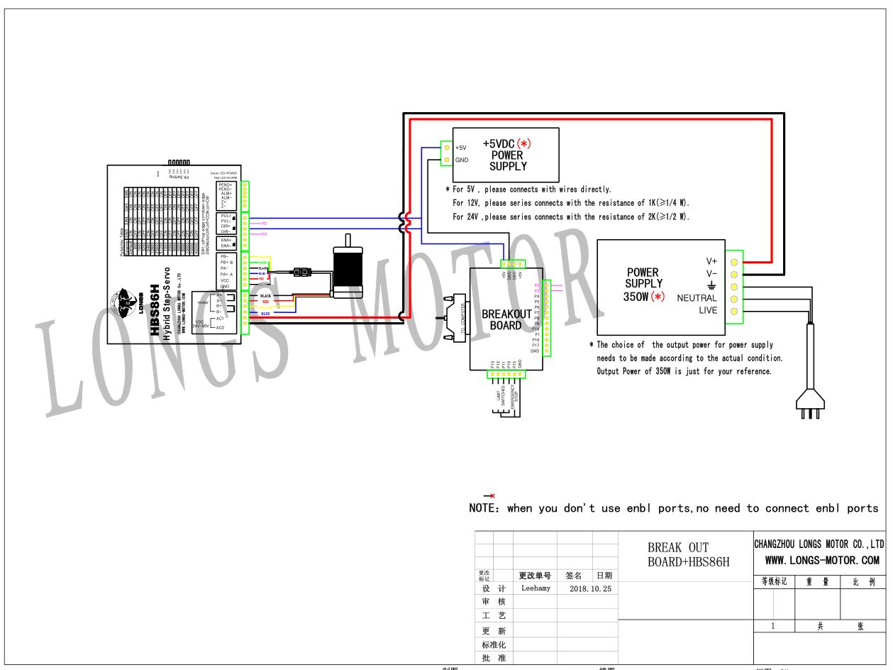 US SHIP!1Axis Nema34 Closed-Loop Stepper motor 170mm 12N.m 34SSM5460/&HBS86H