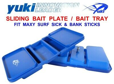 YUKI BAIT PLATE TRAY FIT MAXY SURF STICK BANK STICK RAG WORM LUG WORM TACKLE BOX