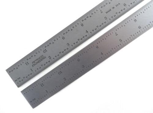 """PEC Blem Cosmetic Second 6"""" Flexible Ruler 16 Grads (1/50, 1/100, 1/32 & 1/64)"""
