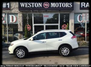 2014 Nissan Rogue S*PWR GRP*BTOOTH*AUX*REAR VIEW CAM!!*