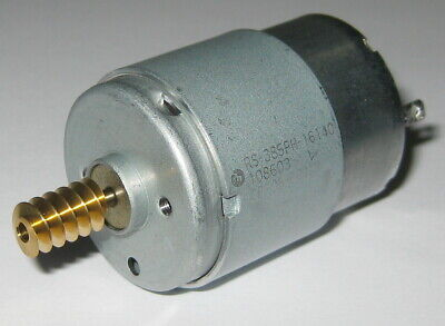 3,000 RPM Robot Motor with 10 Tooth Gear Light Weight 20 Grams 1.5V R//C