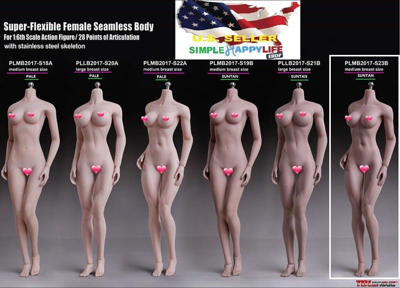 "TBLeague 1//12 Female Seamless Body PHMB2018-T01 A Figure Barbie 6/"" ☆IN STOCK☆"