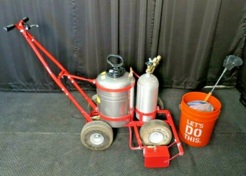 Trusco Trueline Airless CO2 Pressure Cylinder Parking Lot/Turf Striper