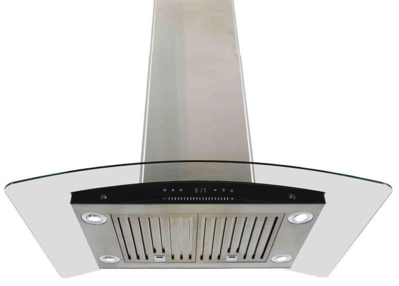 kitchen island range hoods