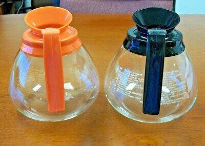 For Bunn - 2 Pk. - 64 Oz. Commercial Coffee Potcarafedecanter-blackorange-new