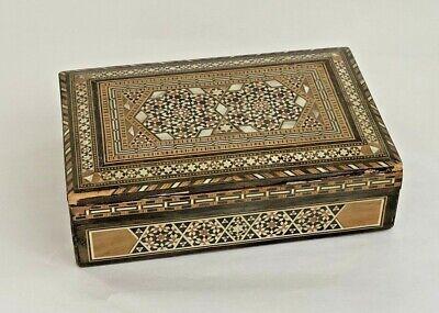 Trinket Box Vintage Jewelry Box Handmade Box 70/'s Decor Unique Ring Box Bubble Glass Silver /& Stone Inlay Box Glass
