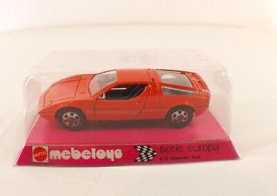 Mebetoys Serie Europa A72 Maserati Bora 1/43 Never Unplayed in Box MIB