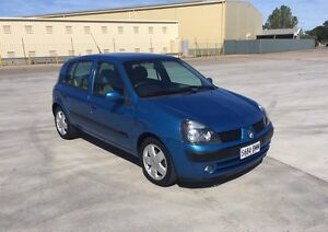 2002 Renault Clio 77204kms automatic pwr/str air/cond books Grange Charles Sturt Area Preview