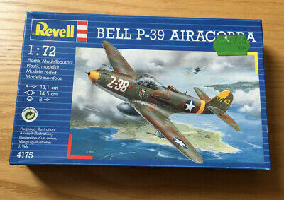 REVELL BELL P 39 AIR COBRA N° 4175 SCALA 1/72