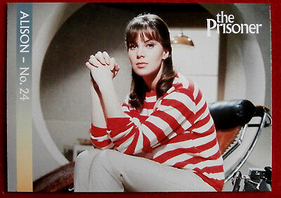 THE PRISONER - Card #10 - Alison - Number 24 - Unstoppable Cards 2018