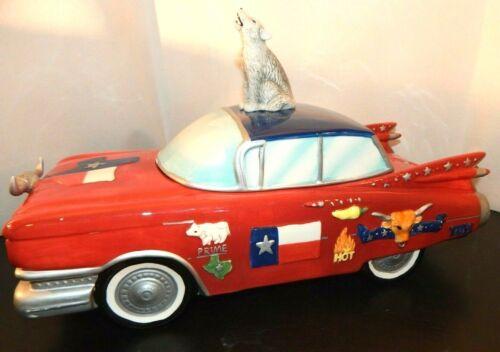 Texas Cadillac Paris & BeeBee Cookie Jar by Sweetz Treatz 2003 RARE!!!