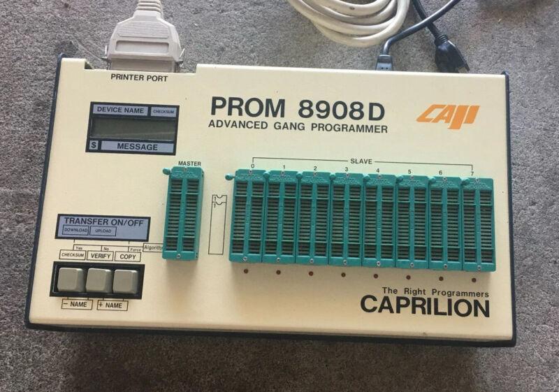 Cap Prom 8980D Programmer