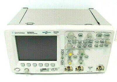 Agilent Mso6052a 500mhz 4 Gsas Mega Zoom Mixed Signal Oscilloscope