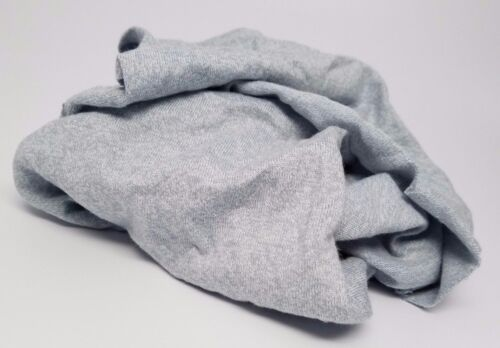 GRAY KNIT T-SHIRT WIPING RAGS CLEANING CLOTH 50 lb BOX - BEST QUALITY & PRICE