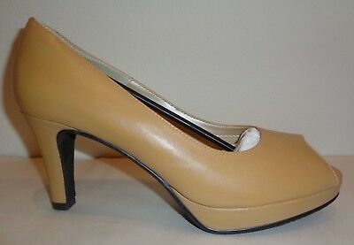 Walking Cradles Size 11 M PROM Camel Kid Leather New Womens Heels Pumps Shoes