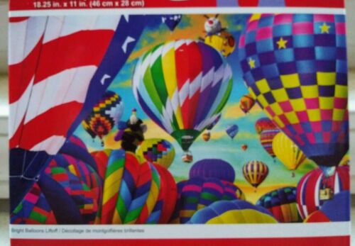 New 500 Piece Jigsaw Puzzle (Bright Balloons Liftoff)