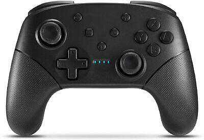 Wireless Switch Controller for Console Pro Gamepad with Joystick New Black