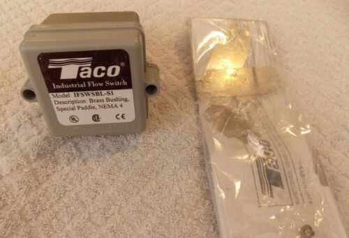 Taco Outdoor Industrial Flow Switch IFSWSBL-S1 Fits Brand Lochinvar New !