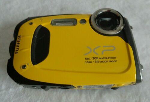 Fujifilm FinePix XP Series XP60 16.4MP Digital Camera - Yellow & FREE SHIPPING