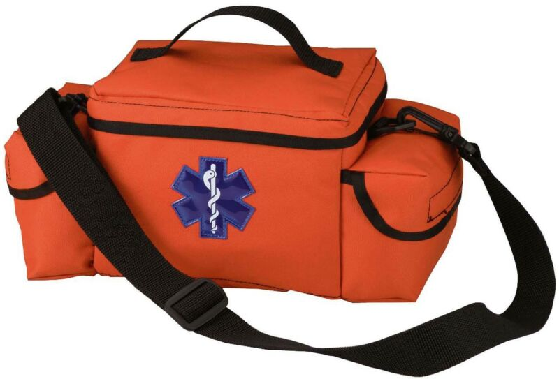 Orange EMS EMT Medical Emergency Rescue Response Mini Shoulder Bag