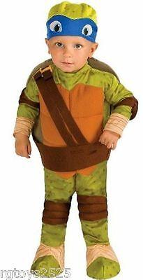 Teenage Mutant Ninja Turtles LEONARDO Costume Size 3-4 T New Toddler Child Kids