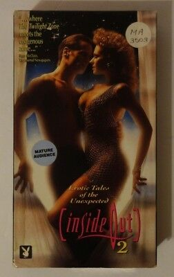Inside Out 2 Rare & OOP Erotic Thriller Original Playboy Home Video Release VHS