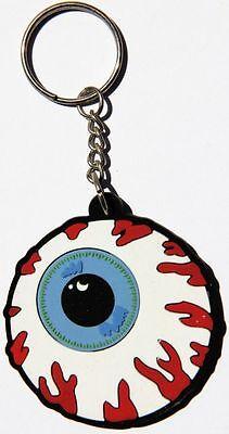 a17 Blaues Auge Tattoo Augapfel Eye Schlüsselanhänger Key Ring Gummi Anhänger