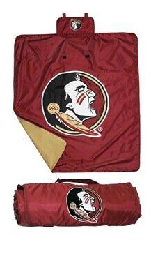 "NEW Florida State Seminoles FSU Blanket Soft Fleece Lined 50"" X 60"" Fleece Florida State Seminoles Blanket"