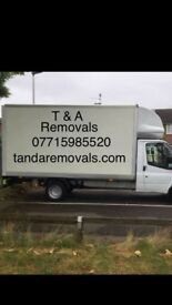Man and van hire, delivery and removal cheap prices 24/7 digbeth jewellery quarter aston erdington