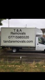 Man and van hire, delivery and removal services 24/7 luton sprinter local cheap prices
