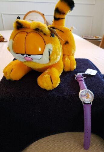 Garfield  Watch & Plush .New. From Archives Garfield Studio.New.