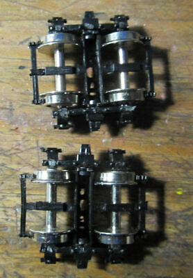 HOn3 Caboose Trucks D&RGW PSC Precision Scale Company--One Pair