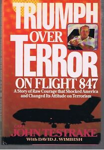 CAPT.TESTRAKE F LT.847 HIJACKED, AUTOG. BOOK & A HWL A GREAT BUY