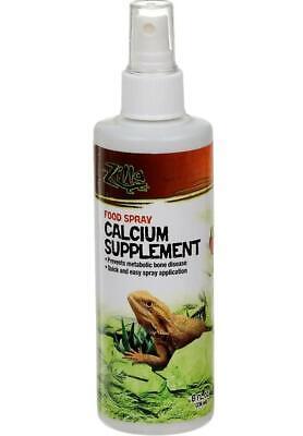 Zilla Reptile Amphibian Vitamin Supplement Food Spray 8oz Beta Carotene FAST AE9