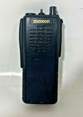 Maxon Sp340 Uhf 16 Channel Radio Missing Channel Knob Battery And Antennae