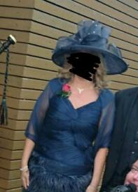 Mother of the bride/groom dress and hat
