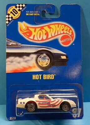 Hot Wheels Hot Bird - White All American Firebird - #37