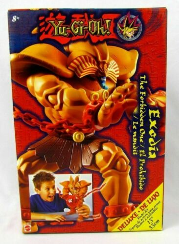 "YU-GI-OH! DELUXE EXODIA THE FORBIDDEN ONE 13"" MODEL KIT MATTEL NEW IN BOX"