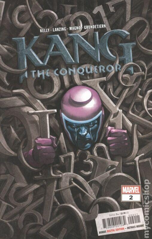 Kang the Conqueror #2A NM 2021 Stock Image
