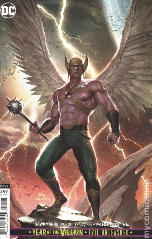 Hawkman #16B VF 2019 Stock Image